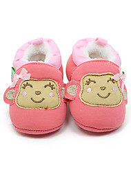 Girl's Loafers & Slip-Ons Fall / Winter First Walkers / Crib Shoes Cotton Casual Coffee / Coral Others