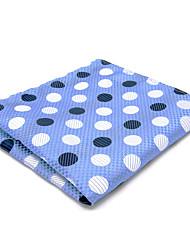 Men Vintage / Cute / Party / Work / Casual Cravat & Ascot,Rayon Polka Dot,Blue / Yellow All Seasons