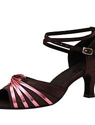 Sapatos de Dança(Outro) -Feminino-Personalizável-Latina / Jazz / Salsa / Sapatos de Swing