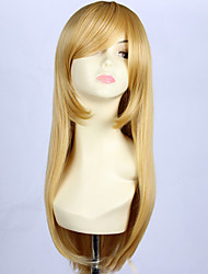 Fashion Sexy Women Wigs Natural Hair Heat Resistant Synthetic Wigs Long Wave Wig Blonde Wigs Cosplay
