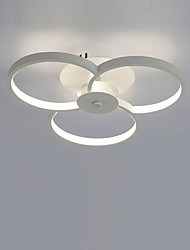 45W Modern Style Simplicity Acrylic LED Ceiling Lamp Metal Flush Mount Living Room Dining Room Bedroom Kids Room light Fixture