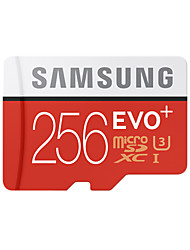 Samsung 256GB TF carte Micro SD Card carte mémoire UHS-3 Class10 EVO Plus EVO+