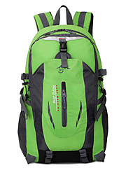 45 L Tourenrucksäcke/Rucksack Camping & Wandern Draußen Wasserdicht / tragbar / Atmungsaktiv Grün / Rot / Blau / Orange Nylon