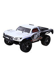 734A 2.4GHz 116 4WD RC Rally Truck - WHITE