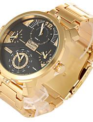 Мужской Спортивные часы / Армейские часы / Нарядные часы / Модные часы / Наручные часы Кварцевый С двумя часовыми поясами / Панк