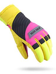 Ski Gloves Full-finger Gloves / Winter Gloves Unisex Activity/ Sports Gloves Keep Warm / Snowproof Ski & Snowboard / Leisure SportsCotton