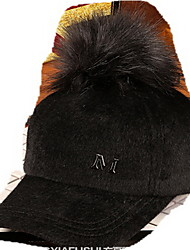 Cap Baseball Cap Cap Outdoor Sports Leisure Boom Warm  Comfortable  BaseballSports Woolly Fur Cap