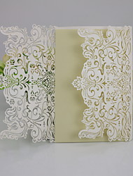 Non-personalized Double Gate-Fold Wedding Invitations Envelope Sticker-10 Piece/Set Pearl Paper / Card Paper