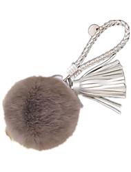 Key Chain Leisure Hobby Toys Key Chain Circular Metal Gray For Girls