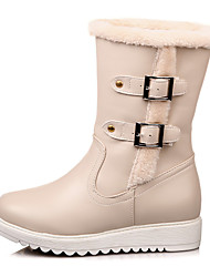 Women's Fall / Winter / Fashion Boots/Snow Boots /Round Toe/Platform /Party & Evening/ Dress /Casual/Fur