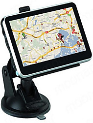 Car Rearview Mirror GPS Navigation System Plus Reverse Image