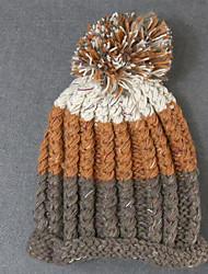Feminino Cloche Feminino Casual Outono / Inverno Tricô