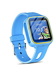 Blue Touch-Screen Version GPS Positioning Waterproof Watch Colour Touch Screen