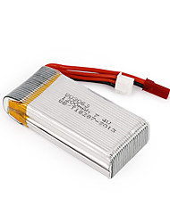 7.4V 1200mAh 30C 803063 JST Plug RC Quadcopter Battery for MJX X101/JJRC/H16