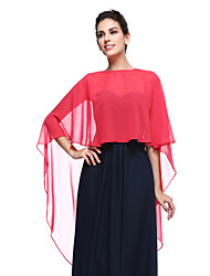 Women's Wrap Capes Chiffon Wedding Party/Evening