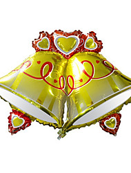 Ballons Urlaubszubehör Zylinderförmig Aluminium Gold Für Jungen / Für Mädchen 5 bis 7 Jahre