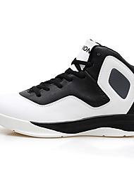 Femme-Extérieure / Sport-Jaune / Rouge / BlancConfort-Chaussures d'Athlétisme-Microfibre