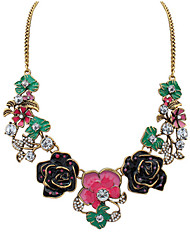 Women's Rhinestone Alloy Bohemian Fashion Rose Red Blue Jewelry Halloween Daily 1pc