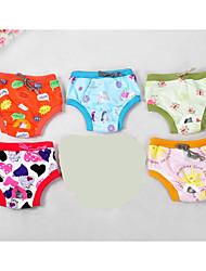Perros Pantalones Ropa para Perro Adorable Casual/Diario Caricaturas Arco iris