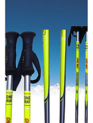 ONEWAV Ski Pole.Ski Sports Supplies/ Silvery And Yellow