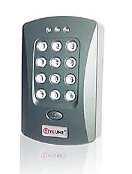 Система контроля доступа RFID одной двери (встроенный считыватель карт ввода пароля с клавиатуры)