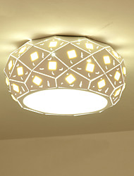 24W Modern Style Simplicity LED Ceiling Lamp Crystal Metal Flush Mount Living Room Dining Room Bedroom Kids Room light Fixture