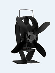 Freestanding 4-Blade Heat Powered Eco-Friendly new style Stove Fan Fireplace Fan 140 CFM Max