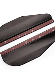ziqiao cejas agua retrovisor del coche del espejo cubierta de la lluvia protector lateral (2 piezas)
