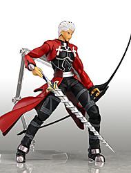 Figuras de Ação Anime Inspirado por Fantasias Fantasias Anime Acessórios de Cosplay figura Vermelho PVC