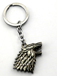 Inspired by Game of Thrones Anime Cosplay Accessories Keychain Silver Alloy