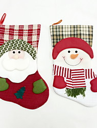 High Quality L Size Textile Christmas Stocking