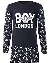 New Men's Casual/Daily Simple Regular HoodiesColor Block Hooded Long Sleeve Polyester Hot Sale High Quality Brand Fashion