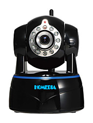 Homedia® 1080p 2.0mp full hd caméra ip sans fil p2p détection de mouvement vue audio mobile bidirectionnelle (iOS Android)