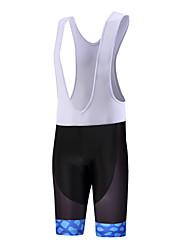 Sports QKI Cycling Wear Bluelight Cycling Bib Shorts Mens /Quick Dry / Anatomic Design  / 5D Coolmax Gel Pad