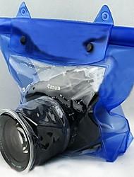 SLR Rain CoverForUniversal Waterproof / Dust Proof Blue