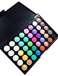 40 Lidschattenpalette Trocken Lidschatten-Palette Puder Normal Alltag Make-up