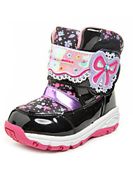 moonstar Boys / Girls Snow sports Mid-Calf Boots Winter Anti-Slip / Waterproof / Breathable Shoes Red / Pink / Black / Purple