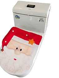 Santa Claus Toilet lid Set New Christmas Decorations Toilet Cover
