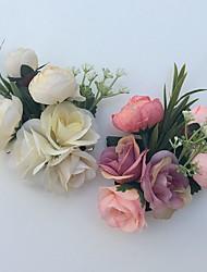 Fleurs de mariage Lis Boutonnières Mariage La Fête / soirée Satin