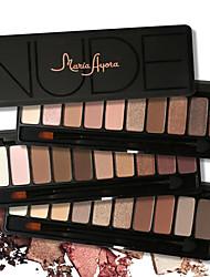 10 Palette de Fard à Paupières Sec / Matériel Fard à paupières palette Poudre Normal Maquillage Quotidien