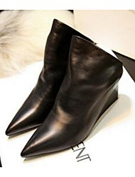 Women's Boots Comfort Other Animal Skin Casual Black
