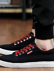 Men's Sneakers Comfort Fabric Casual Black Blue White