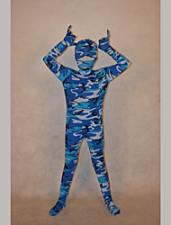 Festival/Holiday Costumes Blue Print Zentai Kid Lycra Fully Covered