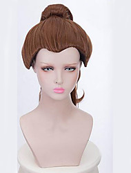 Beauty And the Beast Cosplay Princess Bella Wig Heat Resiatant Cosplay Natural Looking Synthetic Wigs