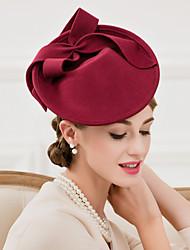 Mulheres Lã Capacete-Casamento Ocasião Especial Casual Chapéus 1 Peça