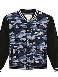 Trenduality® Men's V Neck Long Sleeve Hoodie & Sweatshirt Navy - 47110