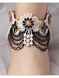 Femme Bracelet de cheville/Bracelet Dentelle Européen Fait à la main Bijoux Pour Soirée Quotidien