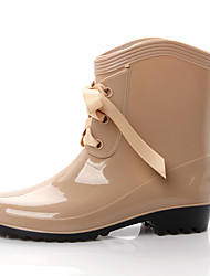 Women's Boots Summer Others Rubber Outdoor Black Yellow Purple Red Tan