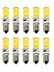 10PCS A Fil Others E14 2809 SMD COB AC220V 1500 lm Warm White Neutral White Glue Waterproof Lamp Other