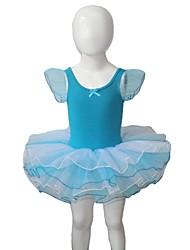 Balé Vestidos Mulheres / Crianças Actuação Algodão / Tule / Licra 1 Peça Tutus